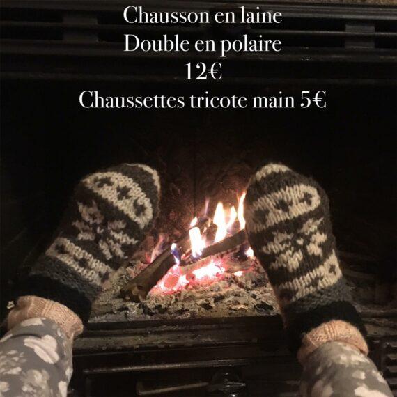 Chausson et chaussette facebook